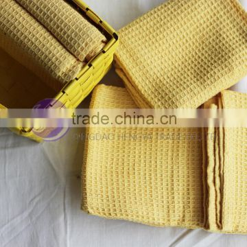 china wholesale factory direct new product cotton waffle dish towel