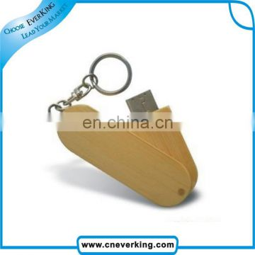 bulk custom logo 2GB 4GB 8GB usb flash drive wood