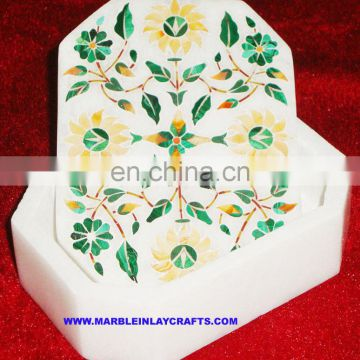 Unique Marble Inlay Box