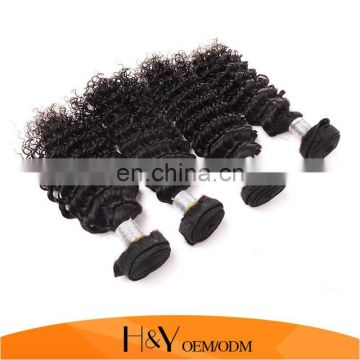 New Brazilian Virgin Hair Deep Wave 100% Human Hair Extension cheap 8A from HY Factory Outlet