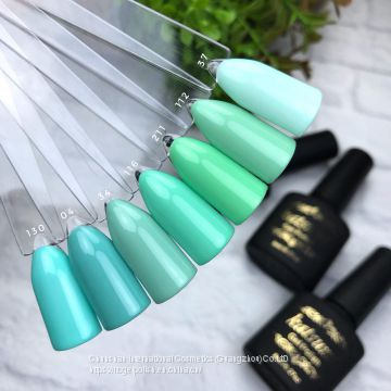 Katsumi high quality soak off cool summer UV Gel Nail Polish for nail salon