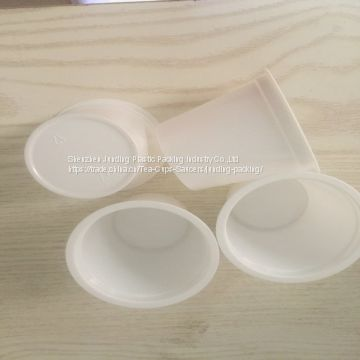 Disposable k-cup plastic kcup filter for all Single serve  Keurig coffee machines .
