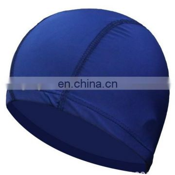 High-quality Waterproof Flexible summer swimming cap ear protect Long Hair Protection Swim Caps for adult make your logo