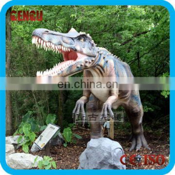 Outdoor and indoor live dinosaur museum