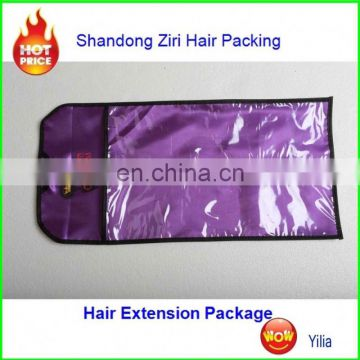 2017 hot sale golden and sliver bag for xpression braiding hair kanekalon