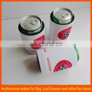 collapsible custom neoprene wine stubby holder