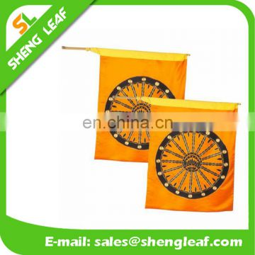 2017 cheap plastic promotional car flag