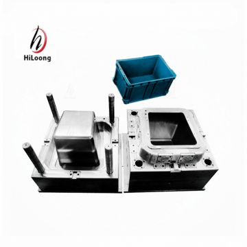 taizhou mould oem high quality injection mould for plastic crate