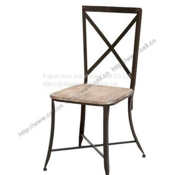 metal outdoor folding Chair coffer table round Chair