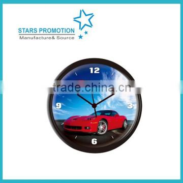 wholesale plastic round wall clock