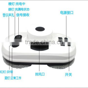Shenzhen China hot sale product intelligent smart window glass clean robot vacuum winbot