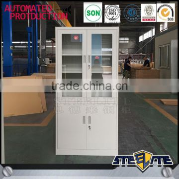 Combination Lock Filing Cabinet Book Shelf Cabinet 2 Door Filing