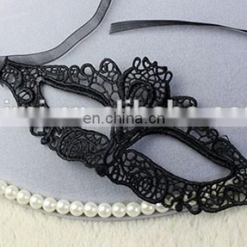 Halloween Black Party Lace Face Masks Eye Mask For Dance