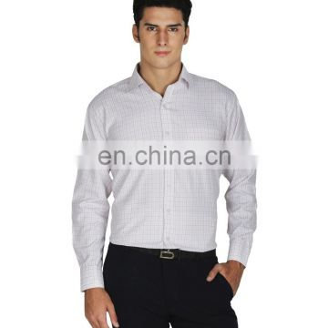 White Cotton Blend Shirt