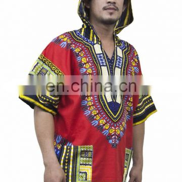 Lofbaz Traditional African Shirt Unisex Dashiki Hoodie Etnic Shirt African Top Mexican shirt S M L XL XXL pulse size Dashiki