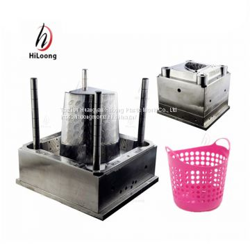 plastic shopping basket mould made in china