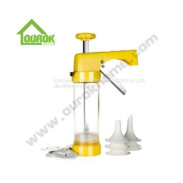 PLASTIC MANUAL COOKIE PRESS FOR DIY CK101