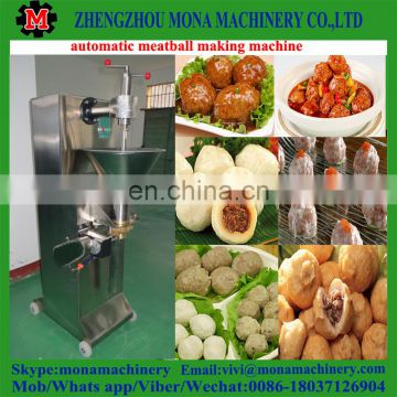Factory directly sale easy-operating fish ball / beef meatball electric meatball maker machine