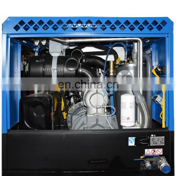 Stable quality fixed industrial screw electric motor drive air compressor with great price