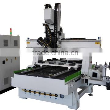 CE supply MDF/Plastic/Wood/Plexiglas/Organic/Acrylic 4 axis cnc router engraver machine with ATC