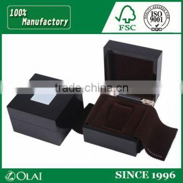 Luxury Wooden Watch Packing Box With Plate