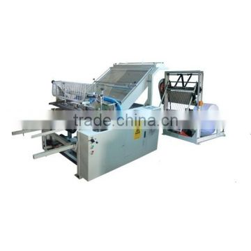 automatic pp woven sack bag cutting machine