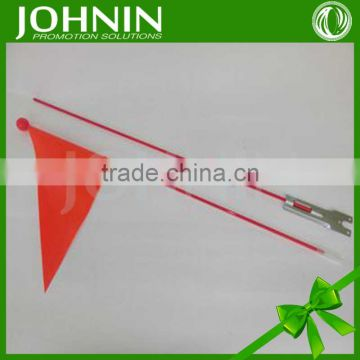 Manufactory china made high quality advertising bike flag