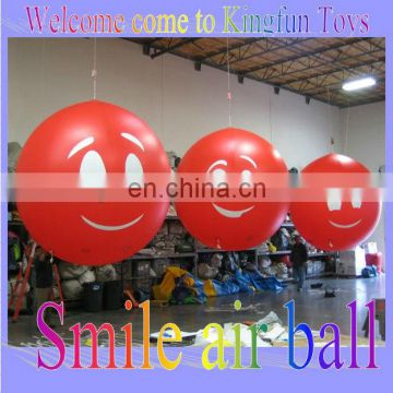 Smile inflatable air balloon