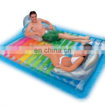 Inflatable Two Seat Floating Mattress