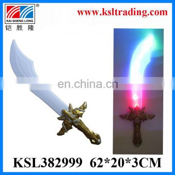 Eco-Friendly plastic toy sound and light flashing toy sword