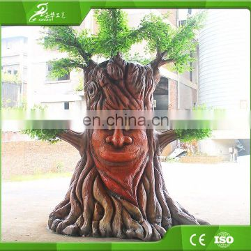 Attractive robot talking animatronic tree for sale