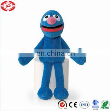 Grover weird guy sesame puppet plush toy 17cm