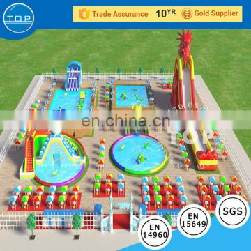 Harrison Largest Inflatable Water Park Supplier / Water Park Games For Adults / Water Park Equipment Price From TOP