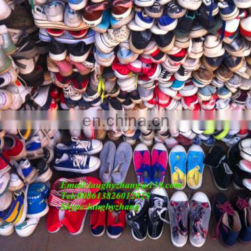 Guangzhou factory sneakers used athletic shoes for sale in 25kg sacks