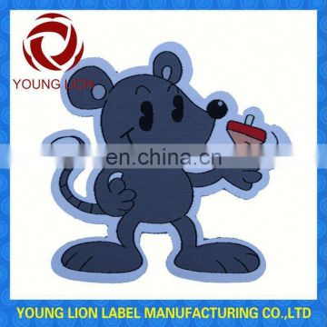 high quality woven wool patch
