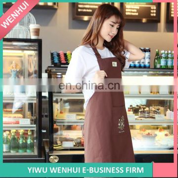 Hot Selling custom design cook disposable plastic apron for wholesale