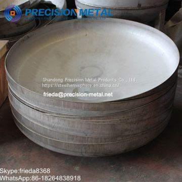 Carbon steel dished end torispherical head for oil tank