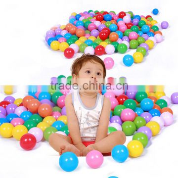 Colorful Fun Plastic Soft Balls Swim Toys Ocean Ball Pit for Play Tents Playhouses Kiddie Pools with assorted any pack                                                                         Quality Choice