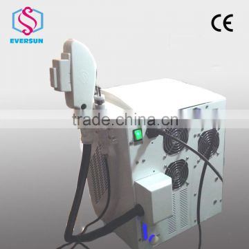 Portable Ipl Hair Removal / Xenon Ipl Lamp / E-light Face Lifting Ipl Rf+nd Yag Laser Multifunction Machine With CE Skin Care