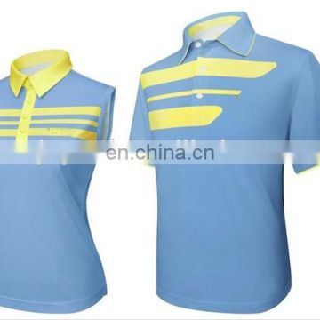 manufacturer OEM high quality sublimation ladies golf shirts/golf polo