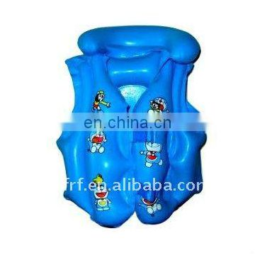 inflatable children swimming lifevest