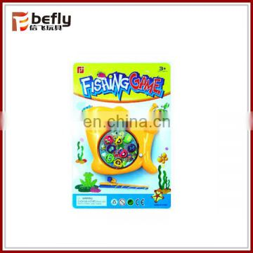 Plastic kids magnetic fishing game