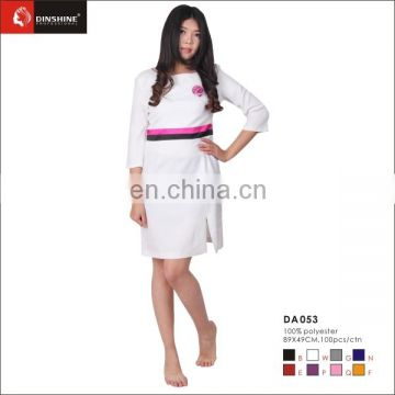 Beauty apperal for spa salon uniform nail salon wears apron