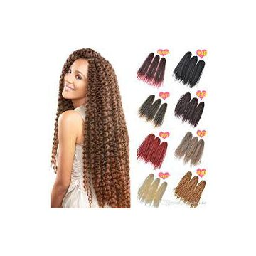Durable Healthy 10inch Synthetic Hair Malaysian Extensions Visibly Bold For White Women