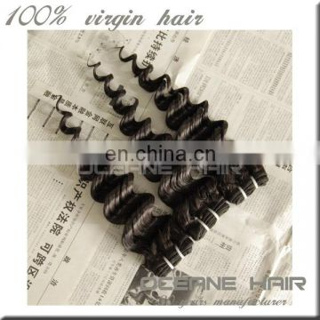 Most stylish high quality real natural brazilian deep wave hair