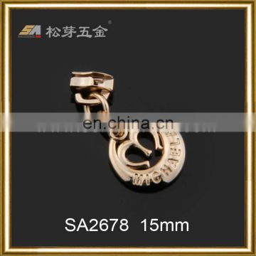 custom plate zinc alloy single swivel snap hook with decoration accessory
