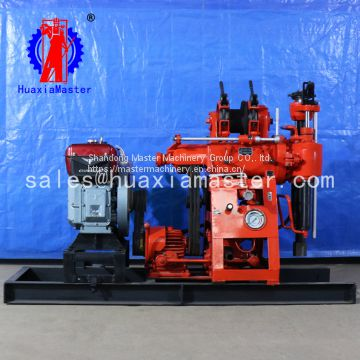 XY-100 hydraulic core drilling rig is widely used for core drilling rig