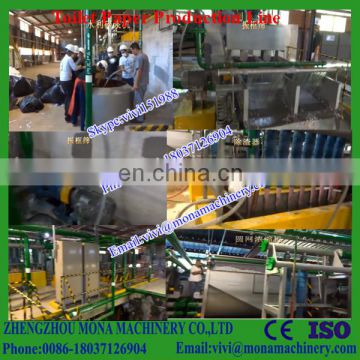 Top quality toilet tissue paper making machine, toilet/ tissue/napkin paper production line for paper plant