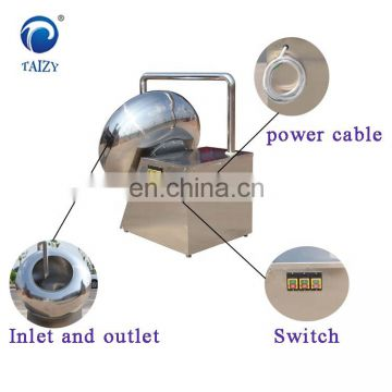 Small candy polishing peanut  sugarchocolate coating machine