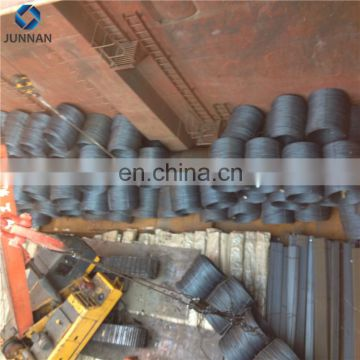 12mm Black high carbon steel wire rod price in coil